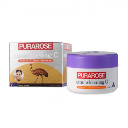Purarose Emu Whitening C Cream 100mL